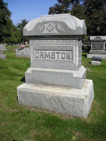 ORMSTON, FAMILY - Bremer County, Iowa | FAMILY ORMSTON