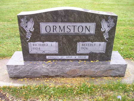 ORMSTON, BEVERLY R - Bremer County, Iowa | BEVERLY R ORMSTON