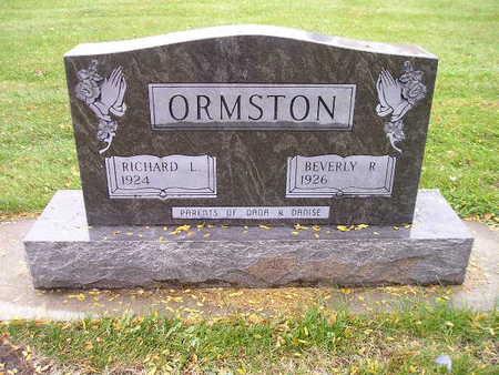 ORMSTON, RICHARD L - Bremer County, Iowa | RICHARD L ORMSTON