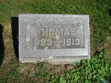 ORMSTON, THOMAS - Bremer County, Iowa | THOMAS ORMSTON