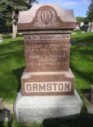 ORMSTON, MABEL L. - Bremer County, Iowa | MABEL L. ORMSTON