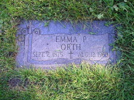 ORTH, EMMA P - Bremer County, Iowa | EMMA P ORTH