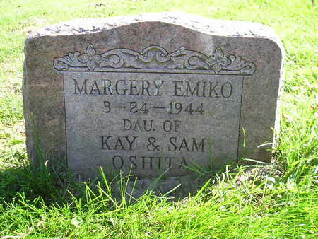 OSHITA, MARGERY EMIKO - Bremer County, Iowa | MARGERY EMIKO OSHITA