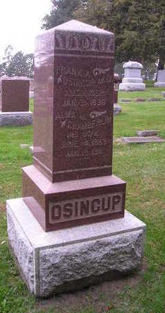 OSINCUP, ALMA M - Bremer County, Iowa | ALMA M OSINCUP
