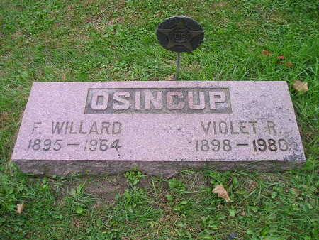 OSINCUP, VIOLET R - Bremer County, Iowa | VIOLET R OSINCUP