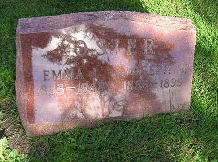OSTER, EMMA J - Bremer County, Iowa | EMMA J OSTER