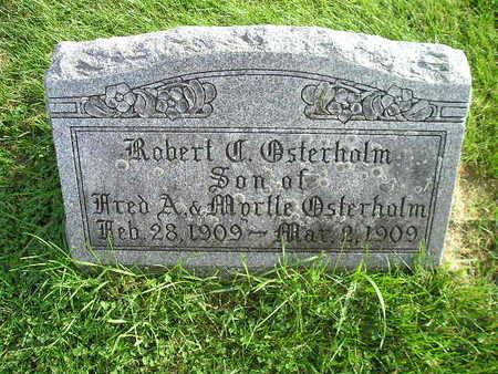 OSTERHOLM, ROBERT - Bremer County, Iowa | ROBERT OSTERHOLM