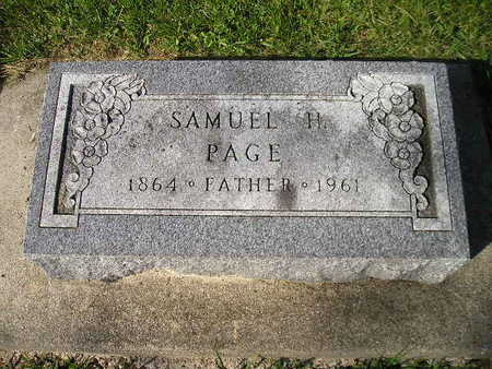 PAGE, SAMUEL H - Bremer County, Iowa | SAMUEL H PAGE