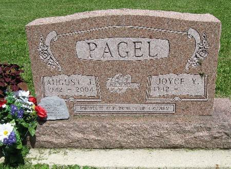 PAGEL, AUGUST J. - Bremer County, Iowa | AUGUST J. PAGEL
