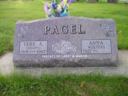 PAGEL, VERN A - Bremer County, Iowa | VERN A PAGEL
