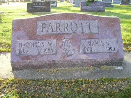 PARROTT, MAMIE G - Bremer County, Iowa | MAMIE G PARROTT