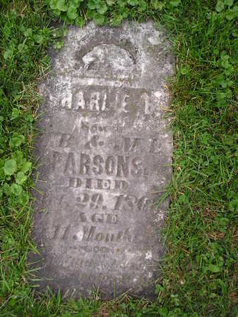 PARSONS, CHARLIE - Bremer County, Iowa   CHARLIE PARSONS