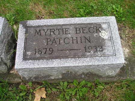PATCHIN, MYRTIE - Bremer County, Iowa | MYRTIE PATCHIN