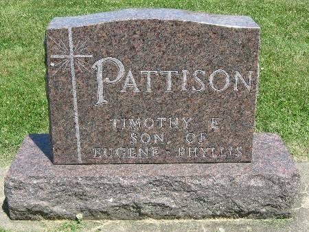 PATTISON, TIMOTHY E. - Bremer County, Iowa | TIMOTHY E. PATTISON