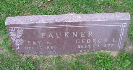 PAUKNER, FAY E - Bremer County, Iowa | FAY E PAUKNER