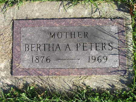 PETERS, BERTHA A - Bremer County, Iowa | BERTHA A PETERS