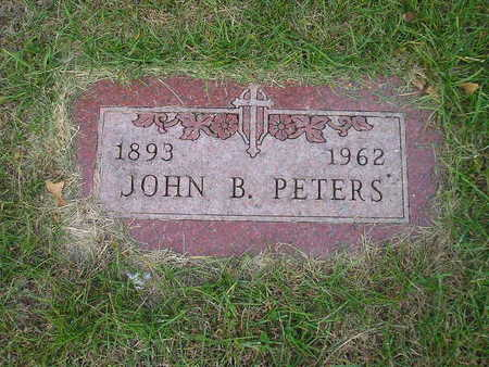 PETERS, JOHN B - Bremer County, Iowa   JOHN B PETERS