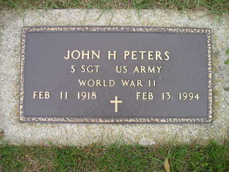 PETERS, JOHN H - Bremer County, Iowa | JOHN H PETERS