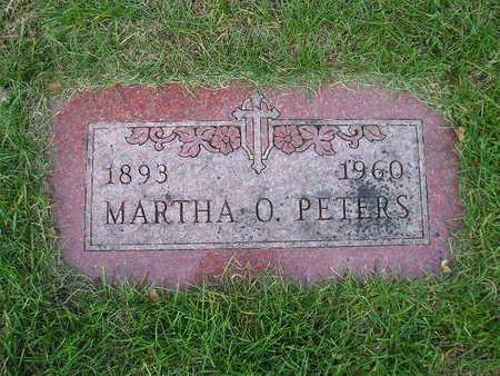 PETERS, MARTHA O - Bremer County, Iowa | MARTHA O PETERS