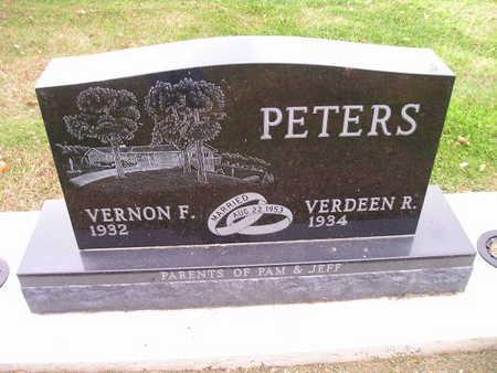 PETERS, VERDEEN R - Bremer County, Iowa | VERDEEN R PETERS