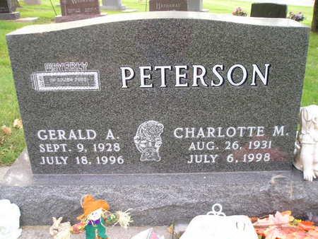 PETERSON, GERALD A - Bremer County, Iowa | GERALD A PETERSON