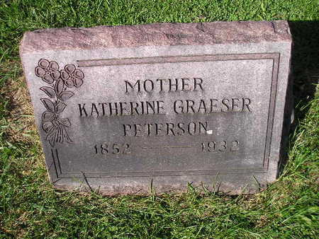 PETERSON, KATHERINE - Bremer County, Iowa | KATHERINE PETERSON