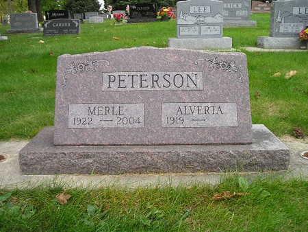 PETERSON, ALVERTA - Bremer County, Iowa | ALVERTA PETERSON