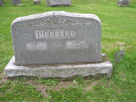 PFEFFER, MARY J - Bremer County, Iowa | MARY J PFEFFER