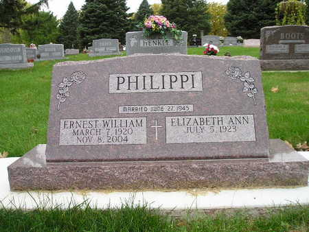 PHILIPPI, ELIZABETH ANN - Bremer County, Iowa | ELIZABETH ANN PHILIPPI