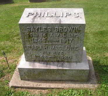 PHILLIPS, SAYLES - Bremer County, Iowa | SAYLES PHILLIPS