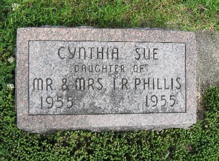 PHILLIS, CYNTHIA SUE - Bremer County, Iowa | CYNTHIA SUE PHILLIS