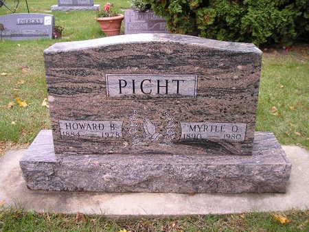 PICHT, HOWARD B - Bremer County, Iowa   HOWARD B PICHT