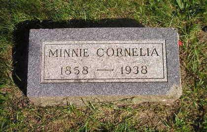 PIERCE, MINNIE CORNELIA - Bremer County, Iowa | MINNIE CORNELIA PIERCE