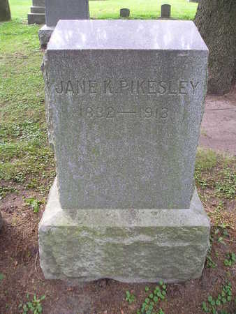 PIKESLEY, JANE K - Bremer County, Iowa | JANE K PIKESLEY