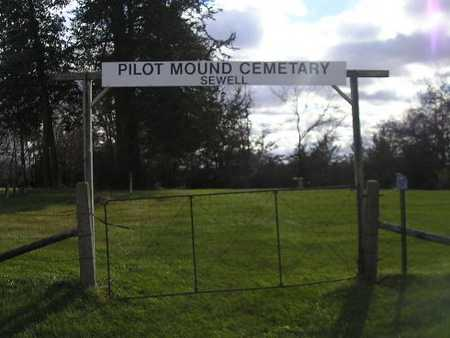 PILOT MOUND - SEWELL, CEMETERY - Bremer County, Iowa | CEMETERY PILOT MOUND - SEWELL