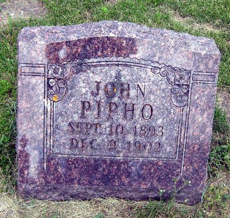 PIPHO, JOHN - Bremer County, Iowa   JOHN PIPHO