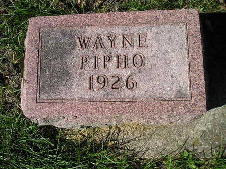 PIPHO, WAYNE - Bremer County, Iowa | WAYNE PIPHO