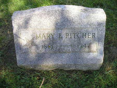 PITCHER, MARY E - Bremer County, Iowa | MARY E PITCHER