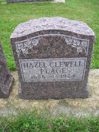 CLEWELL PLAGE, HAZEL - Bremer County, Iowa | HAZEL CLEWELL PLAGE