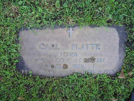 PLATTE, CARL - Bremer County, Iowa | CARL PLATTE