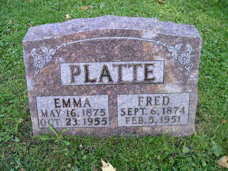 PLATTE, FRED - Bremer County, Iowa | FRED PLATTE