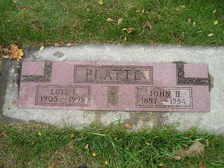 PLATTE, LOIS I - Bremer County, Iowa | LOIS I PLATTE