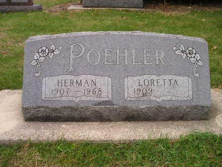 POEHLER, HERMAN - Bremer County, Iowa   HERMAN POEHLER