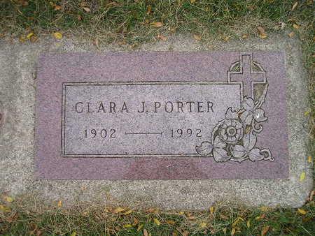 PORTER, CLARA J - Bremer County, Iowa | CLARA J PORTER