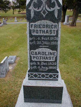 POTHAST, CAROLINE - Bremer County, Iowa | CAROLINE POTHAST