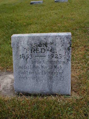 POTHAST, FRED C - Bremer County, Iowa | FRED C POTHAST