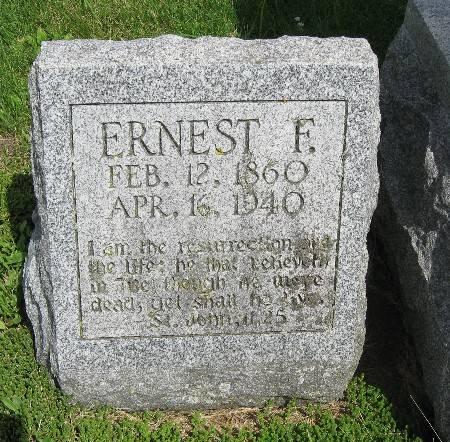 POTRATZ, ERNEST F. - Bremer County, Iowa   ERNEST F. POTRATZ