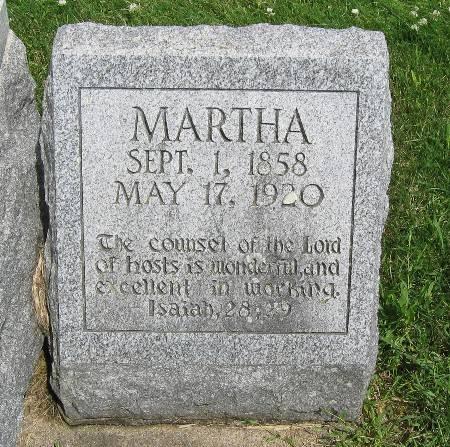 POTRATZ, MARTHA - Bremer County, Iowa | MARTHA POTRATZ