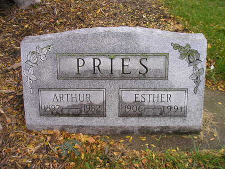 PRIES, ESTHER - Bremer County, Iowa | ESTHER PRIES