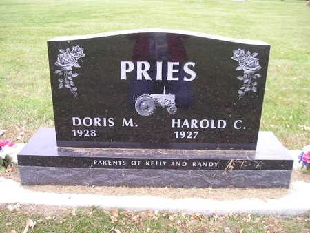 PRIES, DORIS M - Bremer County, Iowa | DORIS M PRIES